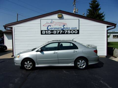 2004 Toyota Corolla for sale at CARSMART SALES INC in Loves Park IL