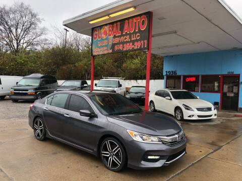 2016 Honda Accord for sale at Global Auto Sales and Service in Nashville TN