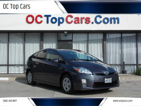2010 Toyota Prius for sale at OC Top Cars in Irvine CA