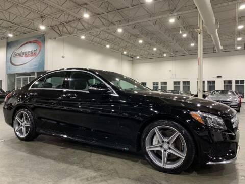 2015 Mercedes-Benz C-Class for sale at Godspeed Motors in Charlotte NC