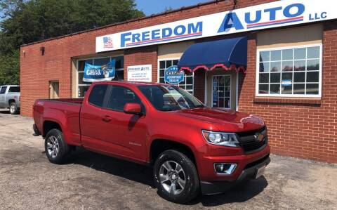 2016 Chevrolet Colorado for sale at FREEDOM AUTO LLC in Wilkesboro NC