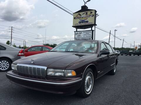 1995 Chevrolet Caprice for sale at A & D Auto Group LLC in Carlisle PA
