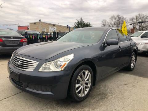 2008 Infiniti G35 for sale at Crestwood Auto Center in Richmond VA