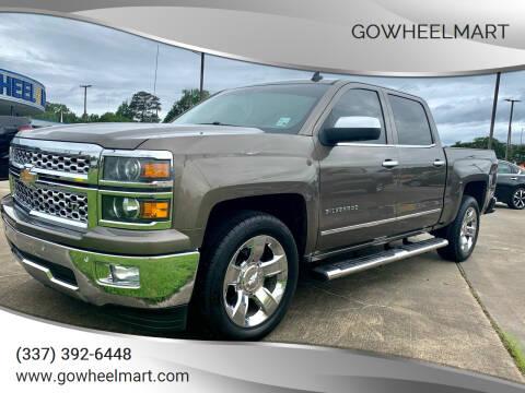 2014 Chevrolet Silverado 1500 for sale at GOWHEELMART in Leesville LA