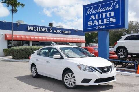 2018 Nissan Sentra for sale at Michael's Auto Sales Corp in Hollywood FL