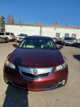 2013 Acura TL for sale at Hartford Auto Center in Hartford CT