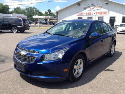 2012 Chevrolet Cruze for sale at Steves Auto Sales in Cambridge MN