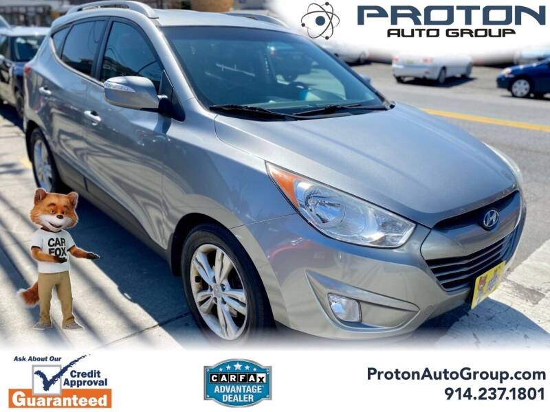 2013 Hyundai Tucson for sale at Proton Auto Group in Yonkers NY