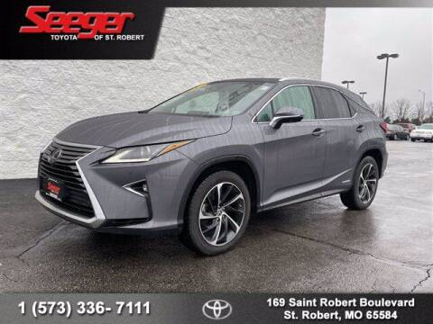 2019 Lexus RX 450h for sale at SEEGER TOYOTA OF ST ROBERT in St Robert MO