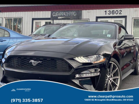 2019 Ford Mustang for sale at CLEARPATHPRO AUTO in Milwaukie OR