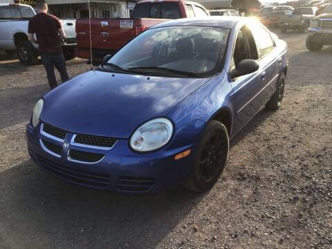 2005 Dodge Neon for sale at Troys Auto Sales in Dornsife PA