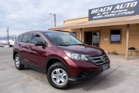 2012 Honda CR-V for sale at Beach Auto and RV Sales in Lake Havasu City AZ