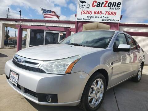 2008 Ford Focus for sale at CarZone in Marysville CA