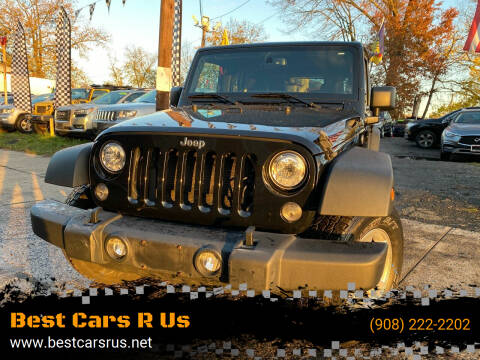 2017 Jeep Wrangler Unlimited for sale at Best Cars R Us in Plainfield NJ