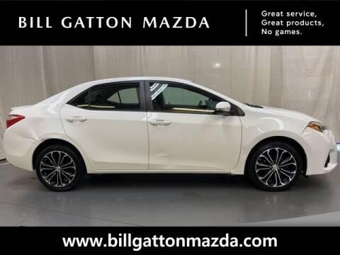 2014 Toyota Corolla for sale at Bill Gatton Used Cars - BILL GATTON ACURA MAZDA in Johnson City TN