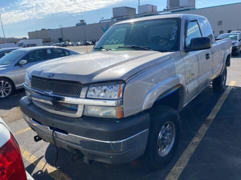 2004 Chevrolet Silverado 2500HD for sale at Kansas Car Finder in Valley Falls KS