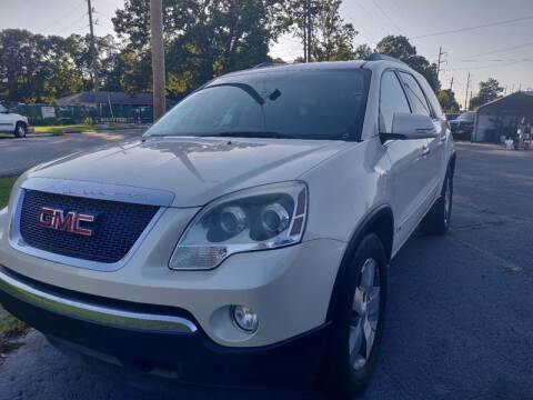 2010 GMC Acadia for sale at R3A USA Motors in Lawrenceville GA