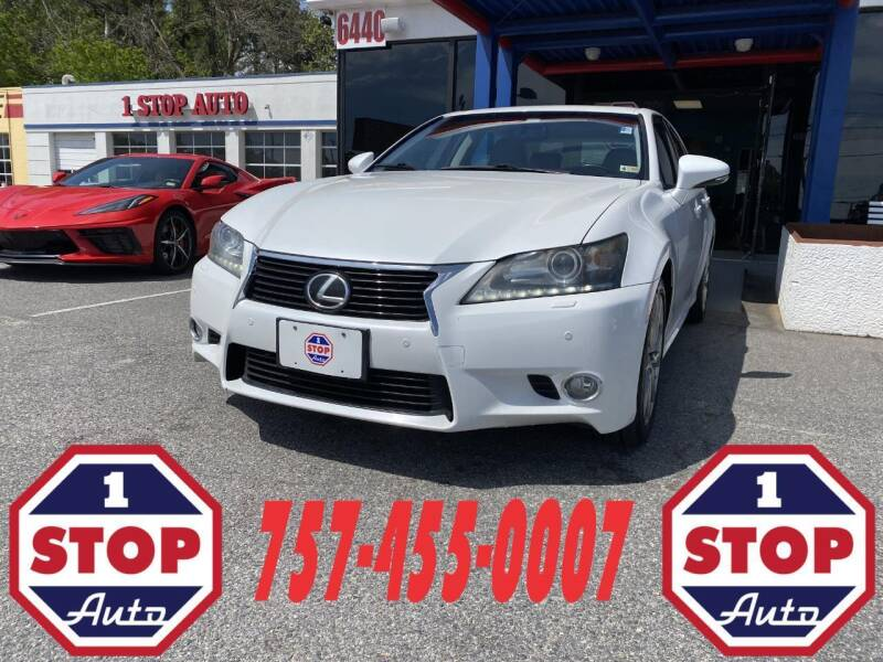 2013 Lexus GS 350 for sale at 1 Stop Auto in Norfolk VA