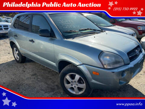 2005 Hyundai Tucson for sale at Philadelphia Public Auto Auction in Philadelphia PA