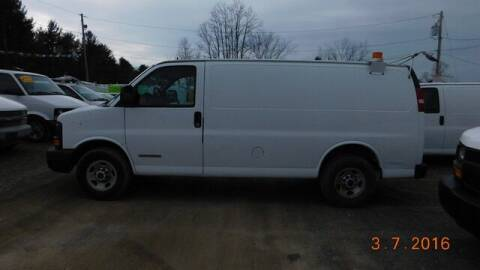 2003 GMC Savana Cargo for sale at Upstate Auto Sales Inc. in Pittstown NY
