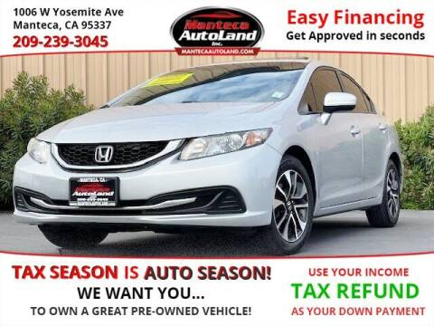 2014 Honda Civic for sale at Manteca Auto Land in Manteca CA