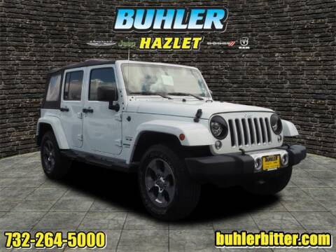 2018 Jeep Wrangler JK Unlimited for sale at Buhler and Bitter Chrysler Jeep in Hazlet NJ