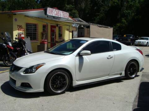 2013 Nissan Altima for sale at VANS CARS AND TRUCKS in Brooksville FL
