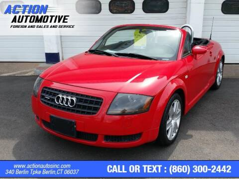 2003 Audi TT for sale at Action Automotive Inc in Berlin CT