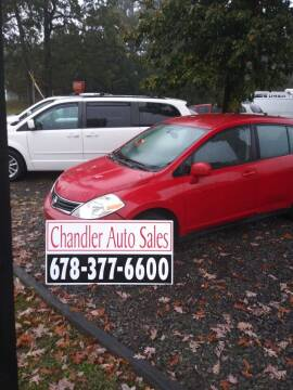 2011 Nissan Versa for sale at Chandler Auto Sales - ABC Rent A Car in Lawrenceville GA