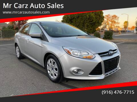2012 Ford Focus for sale at Mr Carz Auto Sales in Sacramento CA