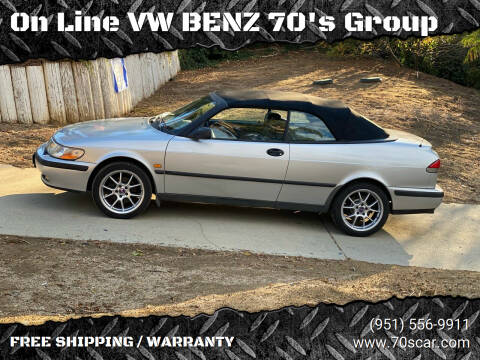 1999 Saab 9-3 for sale at On Line VW BENZ 70's Group in Warehouse CA