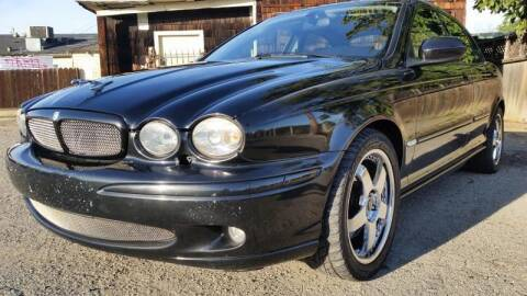 2002 Jaguar X-Type for sale at Top Notch Auto Sales in San Jose CA