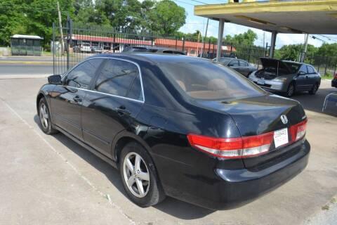 2003 Honda Accord for sale at Preferable Auto LLC in Houston TX