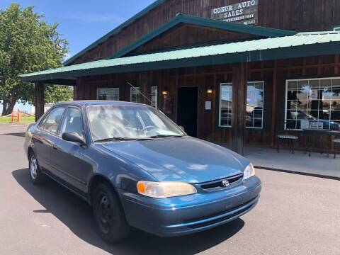 1998 Toyota Corolla for sale at Coeur Auto Sales in Hayden ID