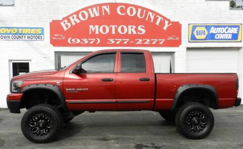 2006 Dodge Ram Pickup 2500 for sale at Brown County Motors in Russellville OH