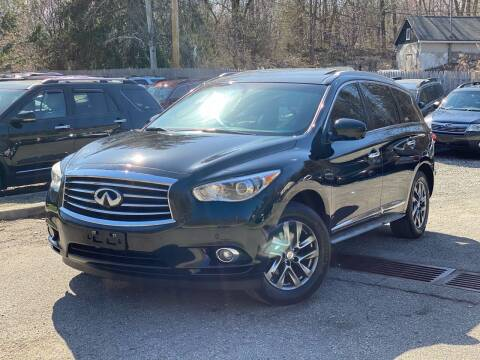 2013 Infiniti JX35 for sale at AMA Auto Sales LLC in Ringwood NJ