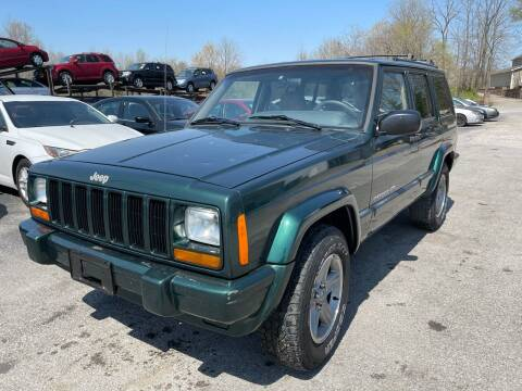 2000 Jeep Cherokee for sale at Best Buy Auto Sales in Murphysboro IL