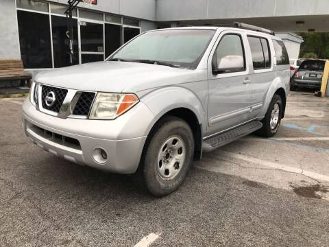 2007 Nissan Pathfinder for sale at Popular Imports Auto Sales in Gainesville FL