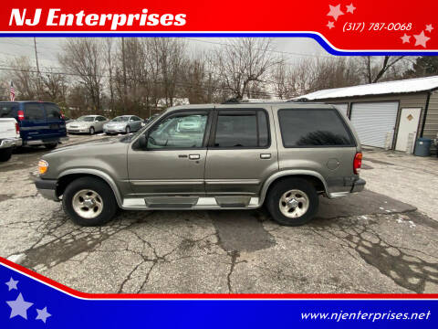 2000 Ford Explorer for sale at NJ Enterprises in Indianapolis IN