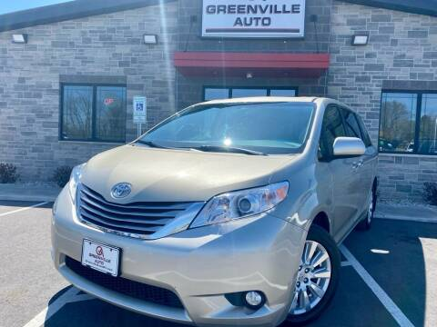2017 Toyota Sienna for sale at GREENVILLE AUTO in Greenville WI