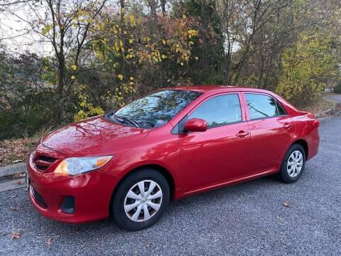 2013 Toyota Corolla for sale at Coastal Auto Sports in Chesapeake VA