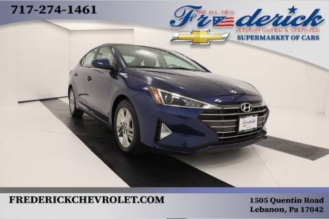 2019 Hyundai Elantra for sale at Lancaster Pre-Owned in Lancaster PA