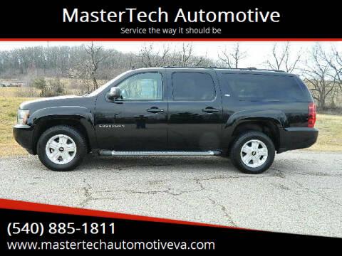 2012 Chevrolet Suburban for sale at MasterTech Automotive in Staunton VA