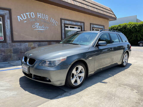 2006 BMW 5 Series for sale at Auto Hub, Inc. in Anaheim CA