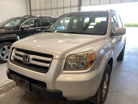 2007 Honda Pilot for sale at RDJ Auto Sales in Kerkhoven MN