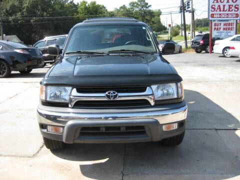 2002 Toyota 4Runner for sale at LAKE CITY AUTO SALES in Forest Park GA