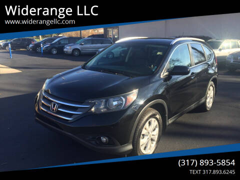 2012 Honda CR-V for sale at Widerange LLC in Greenwood IN
