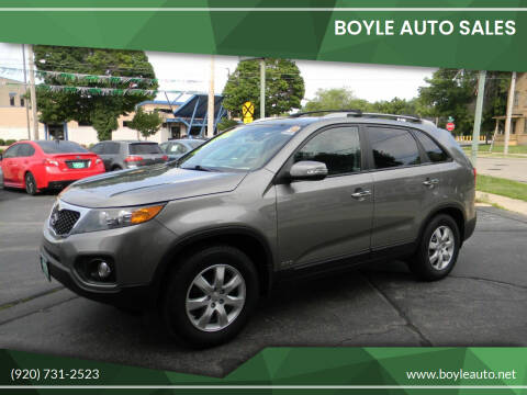 2012 Kia Sorento for sale at Boyle Auto Sales in Appleton WI