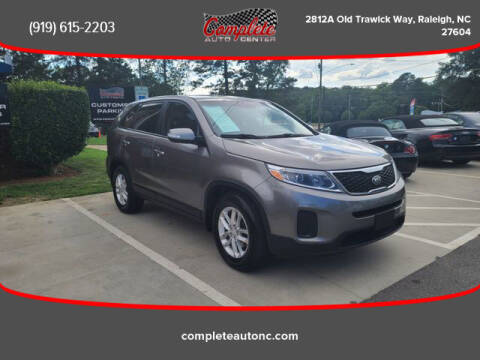 2015 Kia Sorento for sale at Complete Auto Center , Inc in Raleigh NC