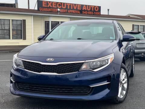 2017 Kia Optima for sale at Executive Auto in Winchester VA
